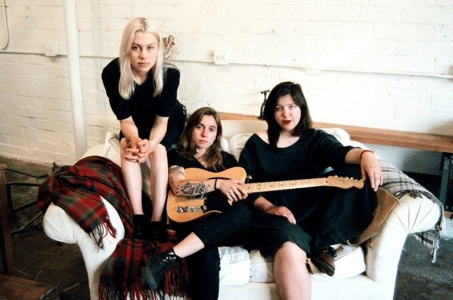 Tomorrow, for one day only, the great supergroup boygenius (@JulienRBaker, @Phoebe_Bridgers, & @LucyDacus) will sell their demos https://t.co/ZrpejcifXn https://t.co/gbzUCn9mN2