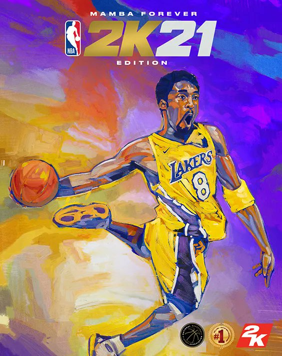 Kobe Bryant is the NBA 2K21 cover athlete for the Current Gen and Future Gen Mamba Forever Editions.