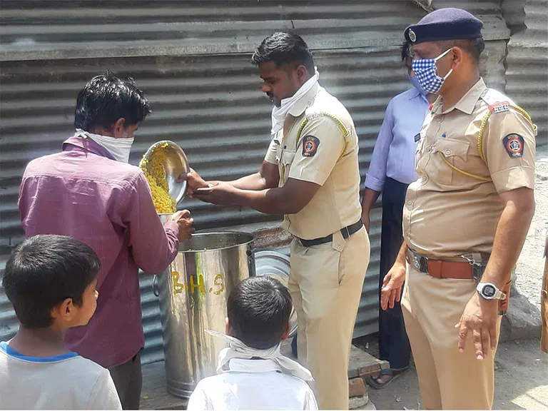 Pune runs on essential service providers and this includes the 9,000-strong police force, performing everything from fumigation, food distribution, crematorium duties, and resolving migrant issues, to contact tracing, issuing travel passes, and maintaining law and order.