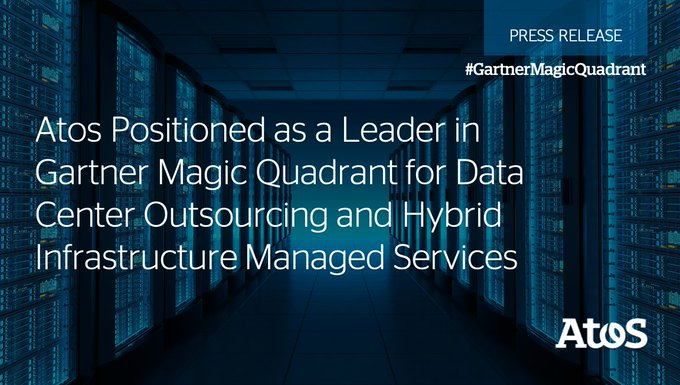 We are proud to announce today that Atos is positioned by @Gartner, Inc. as...