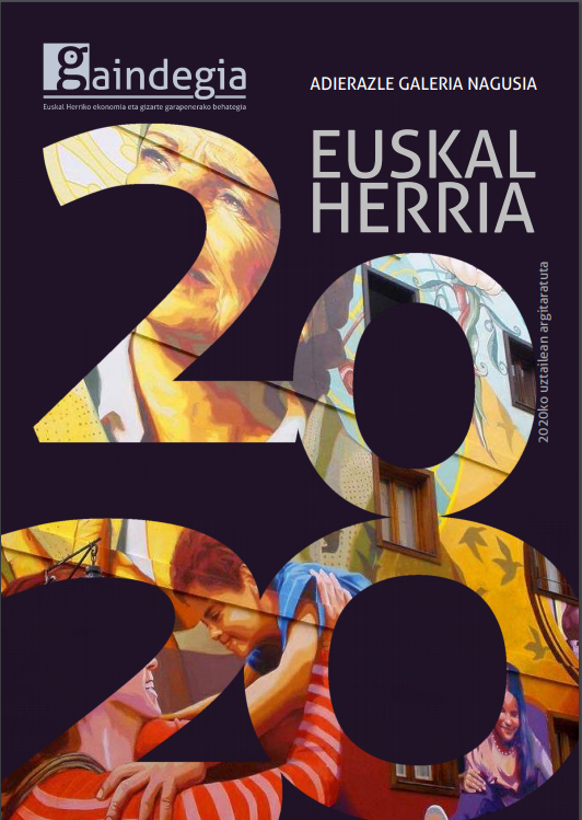 📊#gizartea 📈 #ekonomia 📉 #demografia  'Euskal Herriko Adierazle Nagusien Galeria 2020'  ➡️Ondorio nagusiak:⤵️ https://t.co/Qvog3IhRFD  ➡️Txostena deskargatzeko:⤵️ https://t.co/TDNvh5Sqin  #datuak #EuskalHerria #Europa https://t.co/vbUDQpOiTW