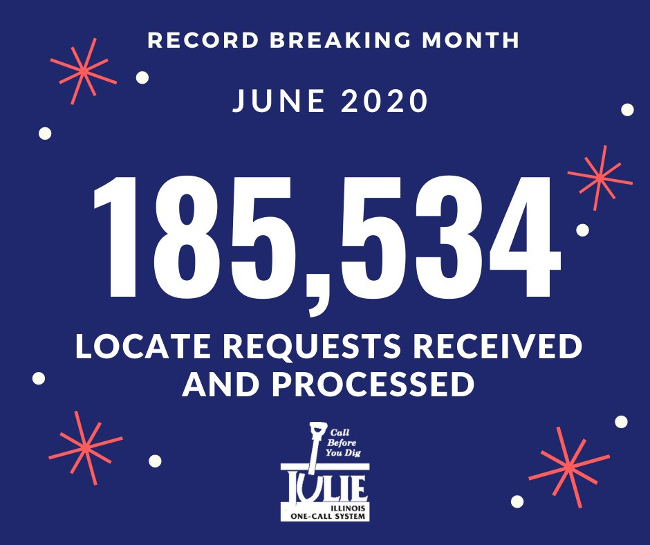 Julie Inc On Twitter We Set A Record In June For Most Locate Requests In A Single Month We Received And Processed 185 534 Locate Requests A Big Thank You To Our Julie In october, a farmer harvesting corn in springfield township. twitter