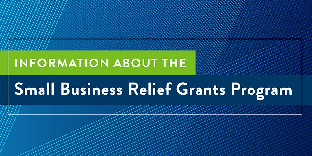 Last chance! Applications for the Small Business Relief Grant Program are DUE TODAY at 5:00 p.m. Apply on our website here! https://t.co/MJbeGrO9Bf https://t.co/QUk2MKQaeW
