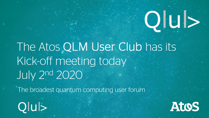 The Atos QLM User Club, an independent world-wide group of Quantum Learning Machine users,...