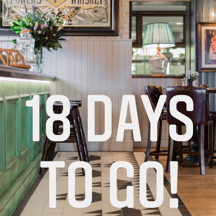 18 days & counting till you can join us. Booking enquiries can be made via our pub website lin  Please download our On Tap app ahead of your visit to order and pay. #thirsty #oldshiphammersmith #food #foodie #hammersmith #chiswick #westlondon #riverpub #dogfriendly #youngspubs https://t.co/q0NSaiwoMA