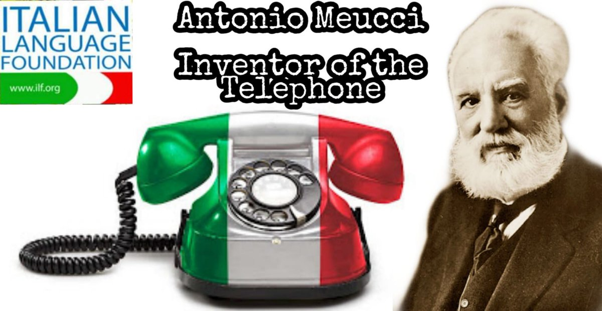 Did you know that the biggest stride in #communication was achieved by an #Italian? Florentine inventor Antonio #Meucci created the first electronic #telephone in 1871.  #GrandeItalia #Technology#Florence #Firenze #Italy #Italia #Italian #Culture #History pic.twitter.com/Oz5SFnyXAE