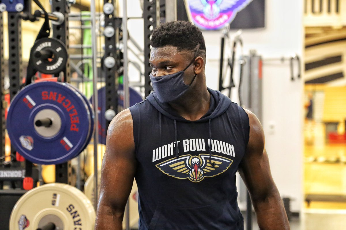 I promise you look just as awesome as Zion does when you wear a mask #MaskUpNOLA