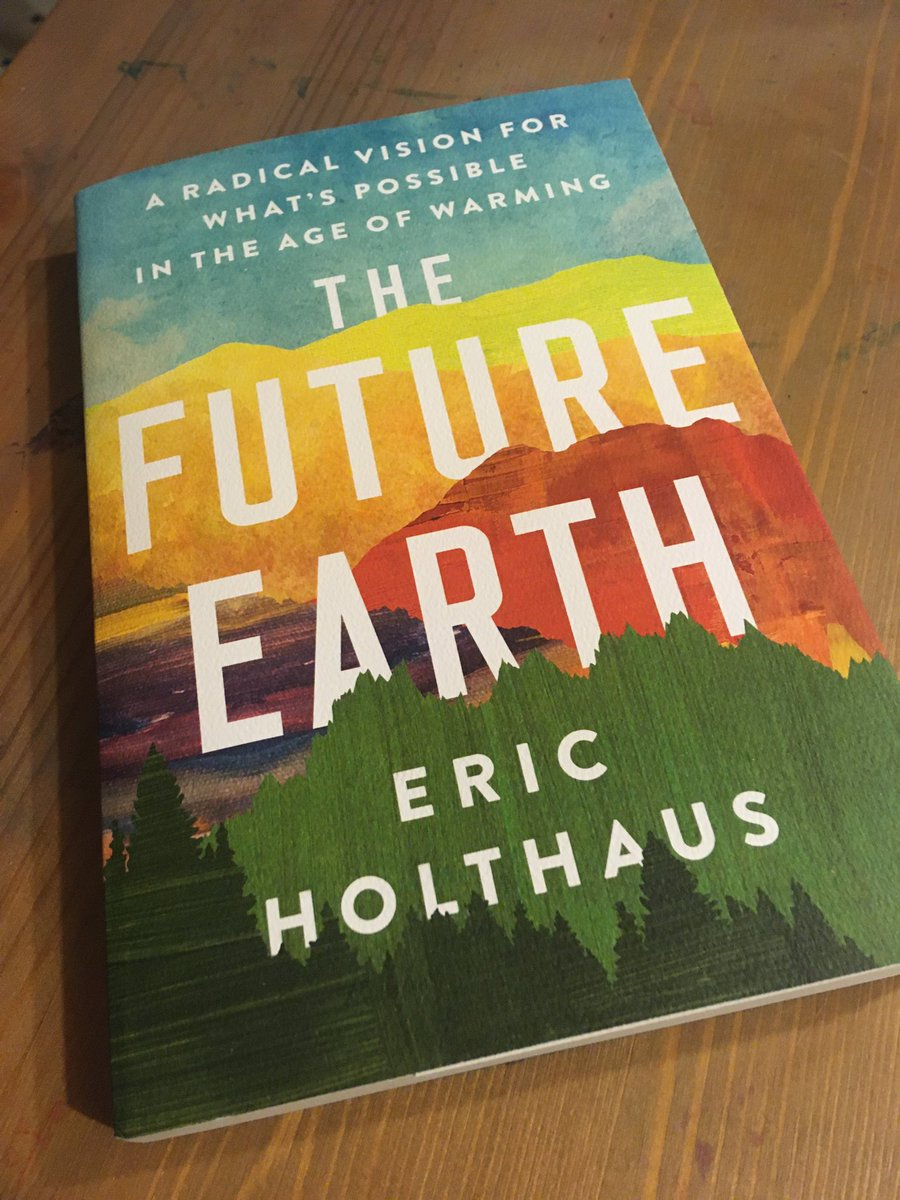 So looking forward to reading this.. @EricHolthaus