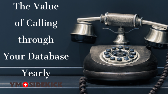 The Value of Calling through Your Database Yearly http://bit.ly/2Zl4vNh #stumin #youthministry pic.twitter.com/qV6Aod7eV6