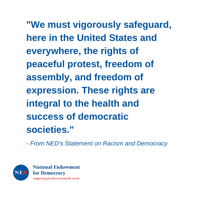 Read National Endowment for Democracy's Statement on Racism and Democracy here:  https://www. ned.org/ned-statement- on-racism-and-democracy/  …  #NEDemocracy <br>http://pic.twitter.com/3BP97EYMj7