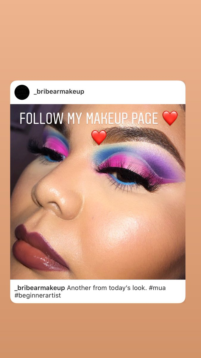 Created my first colorful look . Not my best work but thought I'd try it out . It came out better in head  but if anyone's interested follow my makeup page #colorfuleyeshadow #makeuplook <br>http://pic.twitter.com/Bo5mdW2IFW
