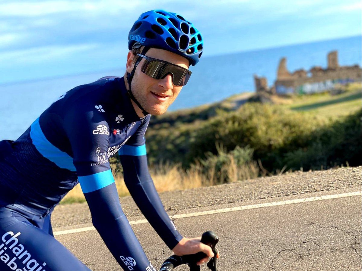 being part of @teamnovonordisk and wearing the @novonordisk logo on my jersey makes me proud! 💙 @novonordisk want to halt the rise of type 2 diabetes ✋, have zero environmental impact ♻️ and work towards a world where their medicines are available and affordable to everyone⚕. https://t.co/Yi1HU6Bl0V