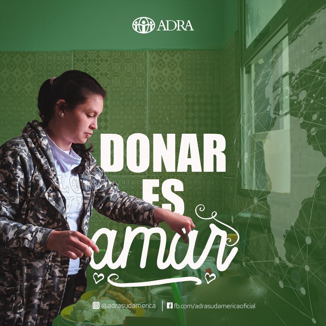 ¡Con una pequeña donación puedes cambiar el mundo de una persona! #ayudemos #ayudanosaayudar #solidaridad #fundacion #donantes #contagios #adra #adrasudamerica #cambiaelmundo #refugiadosvenezolanos #venezolanos #amorycompasion @ADRABrasil @ADRASudamericapic.twitter.com/44PY52EHqB