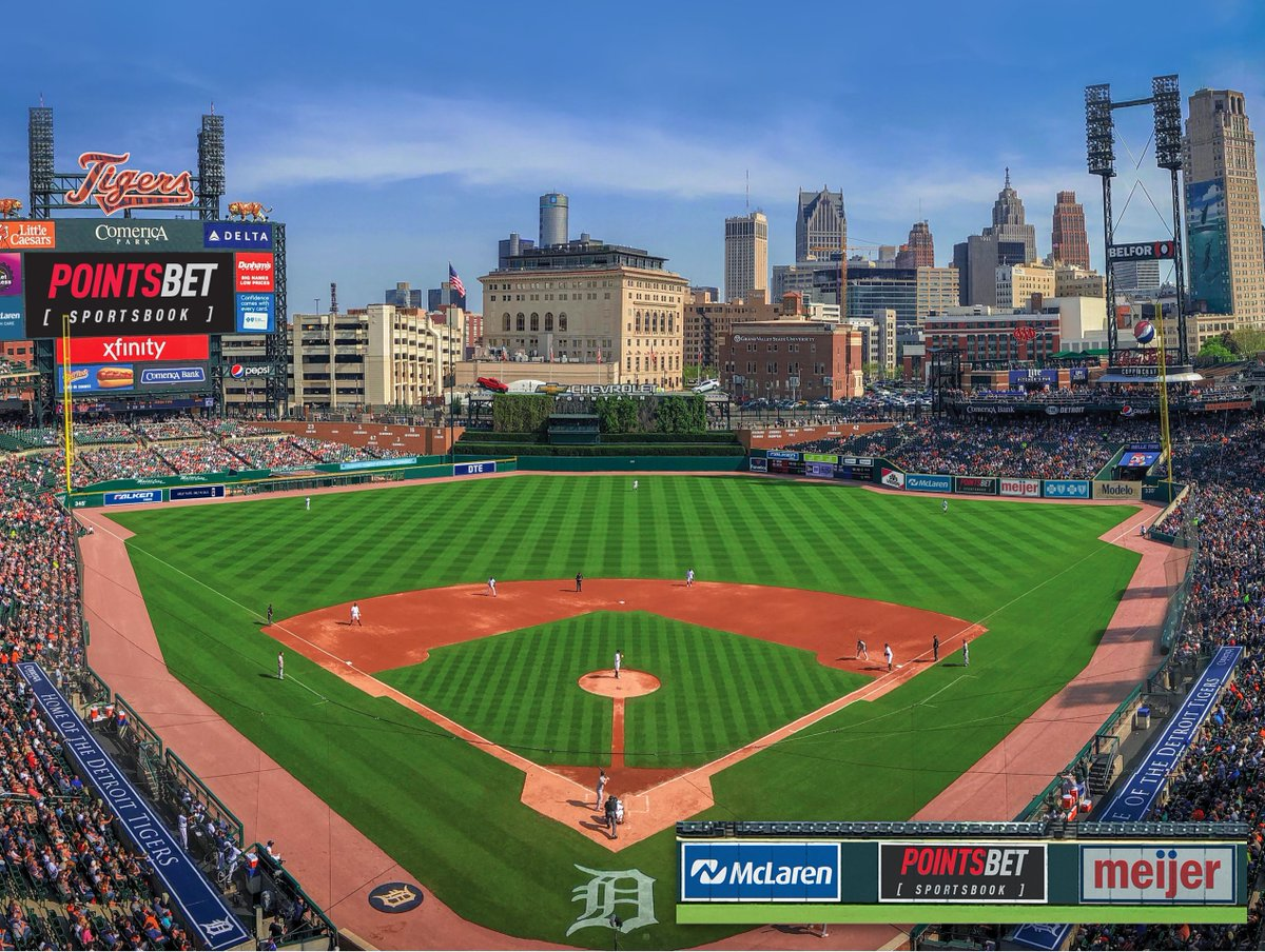 BREAKING: PointsBet and the @tigers have announced a multi-year partnership, the first of its kind in MLB history!  Enhanced fan engagement will be front and center, with access to unique experiences, content, and promotions, in and around Comerica Park.  https://t.co/k9mMmHAJcr https://t.co/Adyci6QQXS
