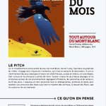 Image for the Tweet beginning: [#DansLaPresse] Le livre du mois
