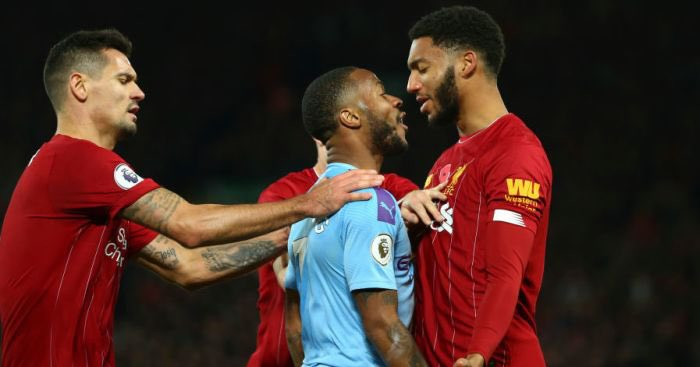 I just text Raheem Sterling this photo and told him he'll be giving Joe Gomez a Guard of Honour tonight. His phone must have ran out of battery though as he hasn't replied. https://t.co/aHqdQDocKt