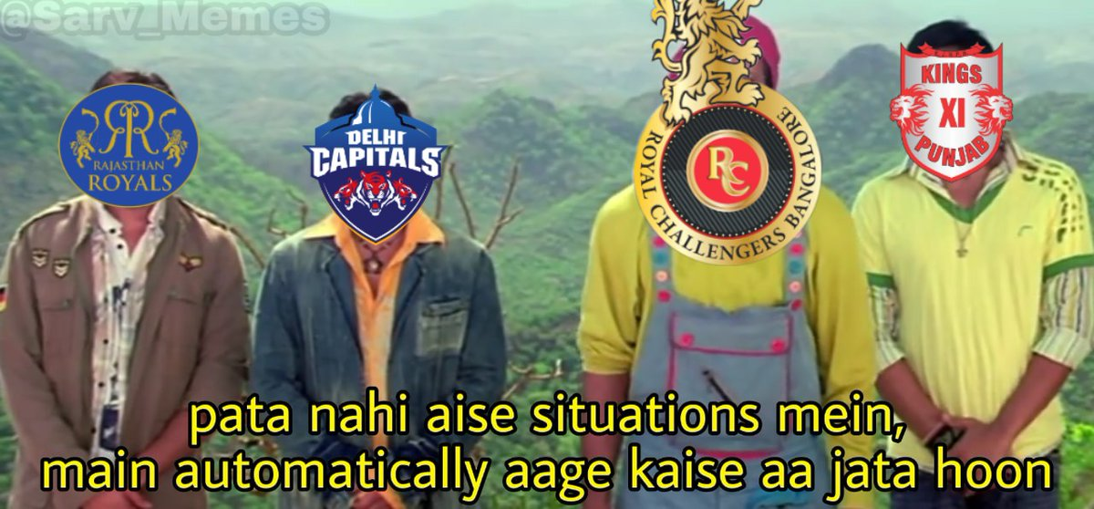 #IPL2020 is trending and everyone is trolling RCB  Meanwhile RCB : <br>http://pic.twitter.com/0vMLIyXxFI