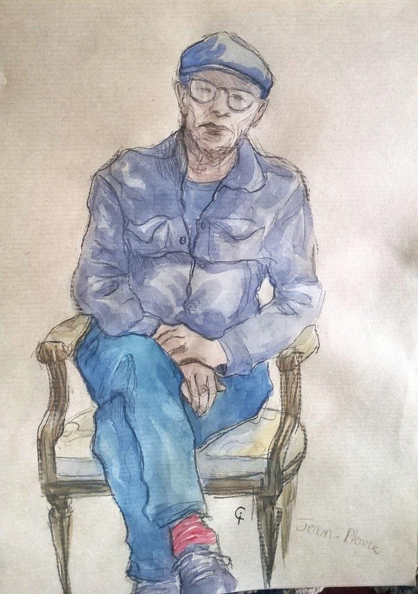 Séance de croquis suite  #croquis #schetches #modelevivant #portrait #drawing #kraftsketchbook #isacochet https://t.co/K0OPmN6JYQ