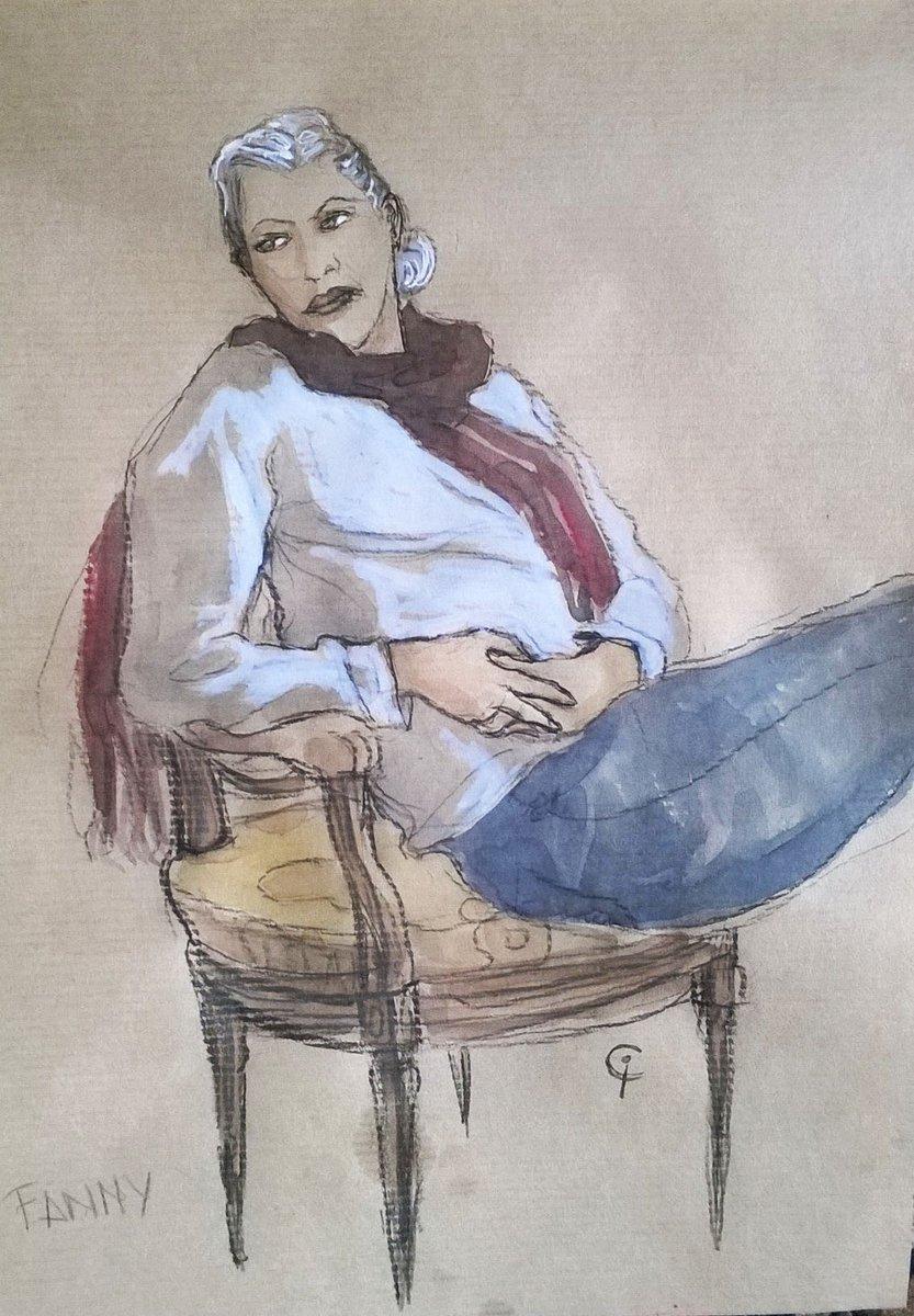 Séance de croquis suite #croquis #schetches #modelevivant #portrait #drawing #kraftsketchbook #isacochet https://t.co/sQsOAmHsbd