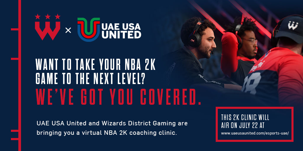 This month, UAE-USA United and @WizardsDG answer all of your questions about the exciting world of #esports in a special virtual clinic.   Whether you're in the US, the UAE or somewhere in between, you can join the conversation here: https://t.co/bp0gbmXPrE @MSE https://t.co/kZoeQ48SoY