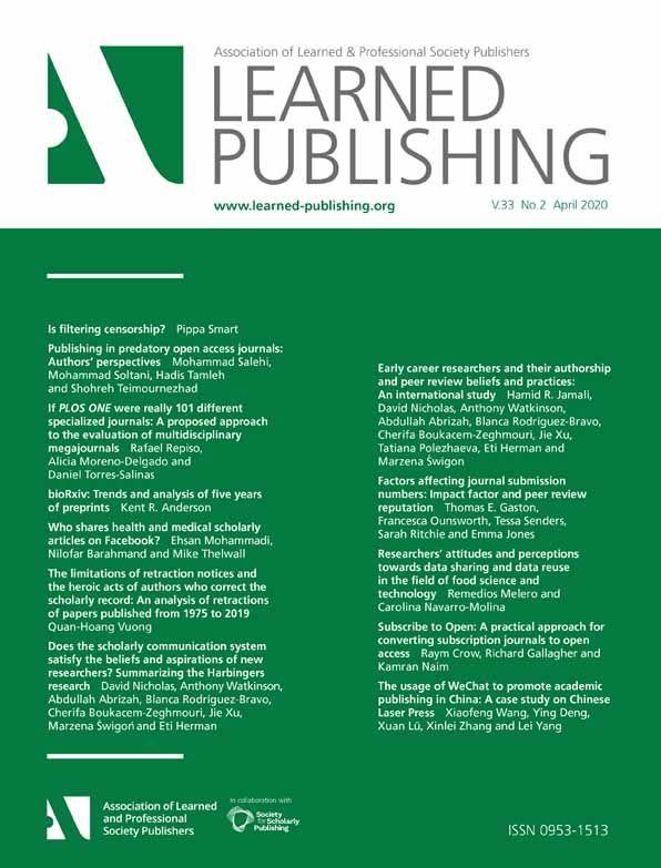 RESEARCH REACTION: Global academic response to COVID‐19: Cross‐sectional study https://t.co/gPW8xzwLgu via @LearnedPublish #COVIDー19 #coronavirus #research #scicomm #scholcomm #AcademicTwitter https://t.co/nsazri3p8K