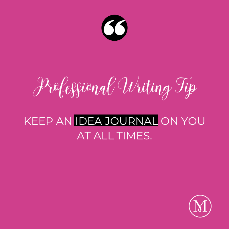 WRITING TIP: Keep an idea journal on you at all times! (Check out our blog for some of our favorite writing journals and tech tools!) https://t.co/XkpzOY1Zoj #writers #amwriting #research #bookresearch #editors #journals #books #writingtools https://t.co/xfh07iMiZ4
