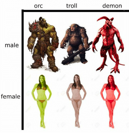 Reminds me of this gem. We can have games where every guy has the physique of a bodybuilder, but not one buff woman? <br>http://pic.twitter.com/c0PC04NMsi