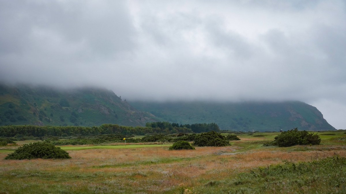 Mist covered mountains this morning @conwygolfclub