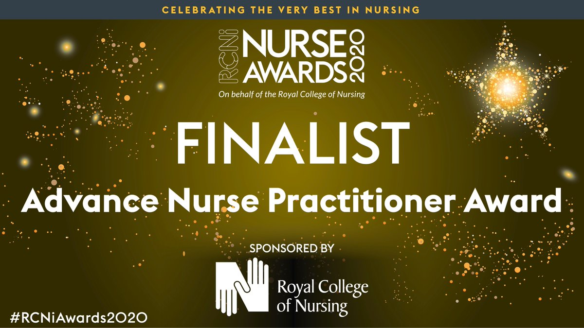 Congrats to @DarbyColm & Vincent McLarnon from @SouthernHSCT who are finalists in the Advanced Nurse Practitioner category of the #RCNiAwards, sponsored by @theRCN  These ANPs are working to improve uptake of vaccinations by identifying champions. More at https://t.co/hrjWTDwie5 https://t.co/K3ZChWRAUe
