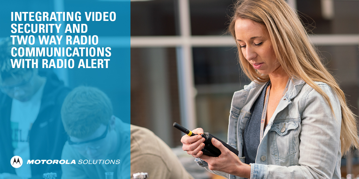 With our Radio Alert Whitepaper, learn how trusted and reliable #TwoWayRadios and #VideoSecurity are combined to seamlessly deliver advanced, real-time information to the right people on your school campus when they need it most: https://t.co/YPWWi9Xr5a https://t.co/3FNqMzRB8t