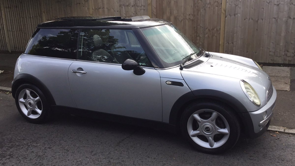 Just released:2004 Mini Cooper Panoramic Electric Roof,Leather Trim.For full details please go to our Website:https://t.co/64Pk4hVEqa #Mini #ForSale #Sell #Buy #Silver #Cool #Cars #Drive #Want #Need #RoadTrip #Happy https://t.co/ANOQ0FZDZD
