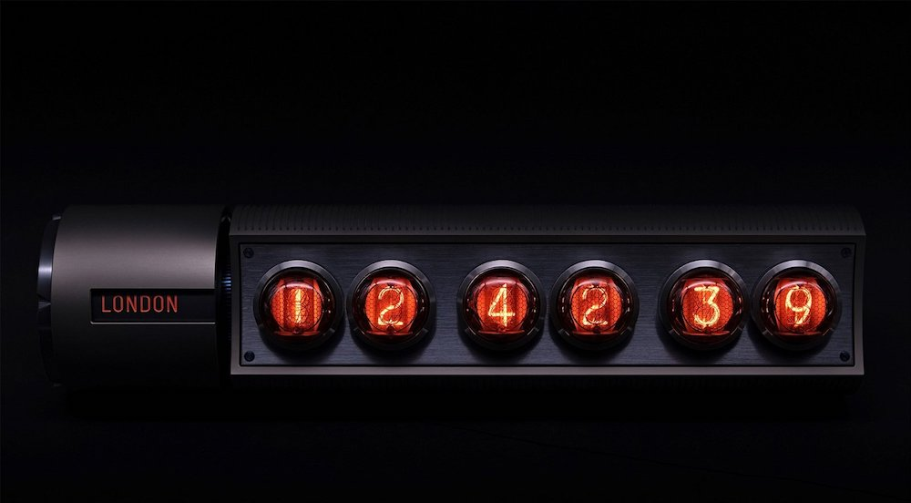 It might cost a small fortune but this Adatte Design Nixie Clock might just be worth it:  >> https://t.co/hUinUcglYq << https://t.co/LwGpWSBrgY