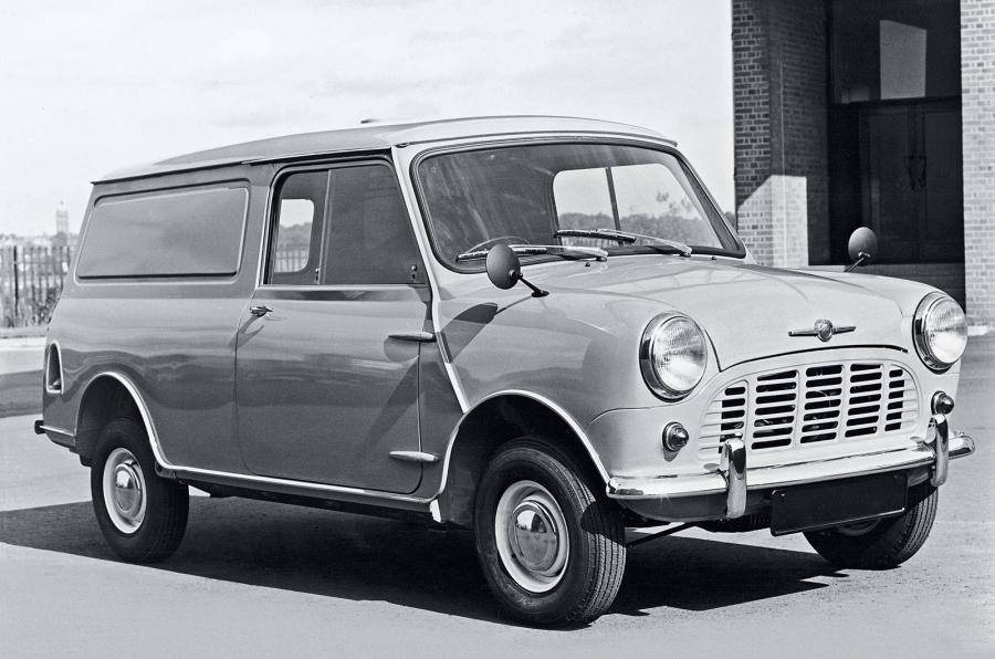 This #ThrowbackThursday we're going back to 1960 when the MINI Van got the job done!  What's your favourite MINI model of all time?  #MINI #MINIVan #Classic https://t.co/uMPDHLWE7s