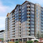 Image for the Tweet beginning: Langford approves permit for 124-unit