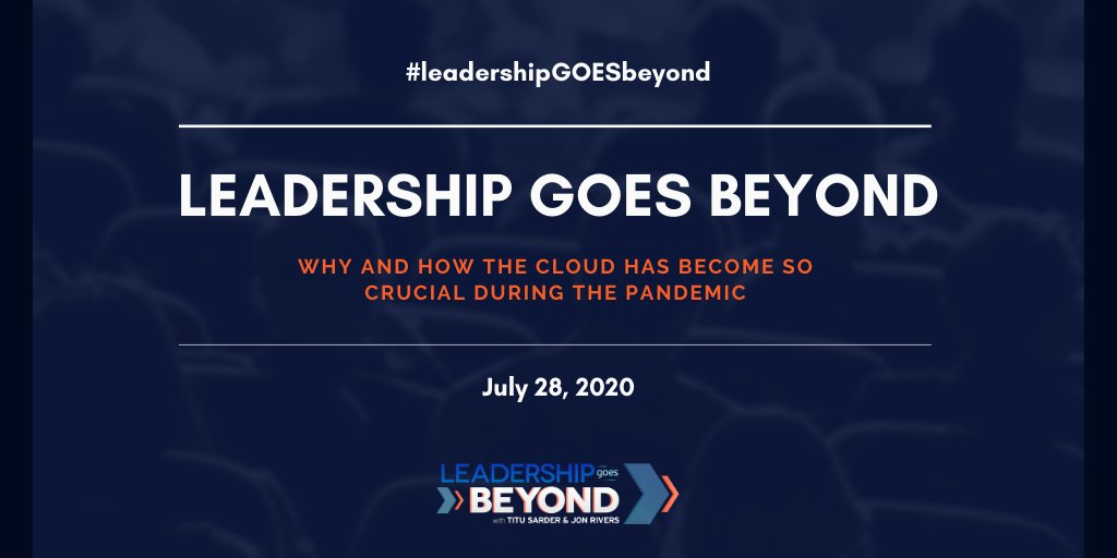We have gone live & we are open for FREE registrations for our July 28 event.  Save a seat as you're going to be blown away w/ the speakers, we have for you:  https:// buff.ly/2UGcYqq     #leadershipGOESbeyond #leadership #empoweredleadership #MSPartner #IAMCP #WITNetwork #WomenInCloud<br>http://pic.twitter.com/HCkm5GyLvR