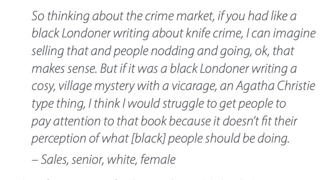 WTAF? This is what authors of colour are up against! 😡