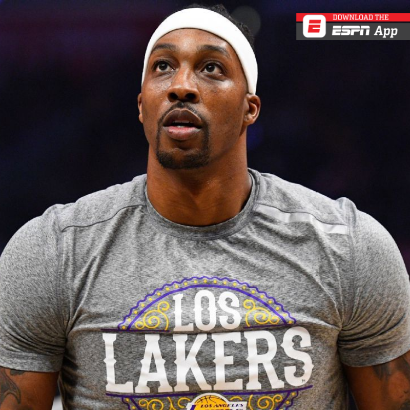 🏀 @Lakers coach Frank Vogel says the team will not seek a replacement player for @DwightHoward for the Orlando restart.  https://t.co/JrVZOh84jF  #NBA #NBAxESPN #ESPNCaribbean https://t.co/3r1NBcZXKD