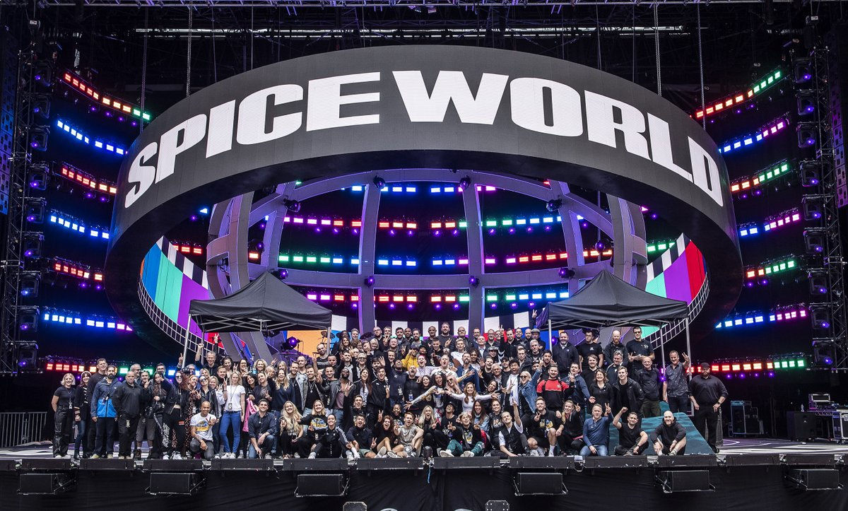 We had the best time in #Spiceworld2019 but it wouldn't have been possible without our amazing band, dancers and incredible touring team #LetTheMusicPlay  📸 - @Timmsy17 & @lukedyson https://t.co/wSjXNITP4t