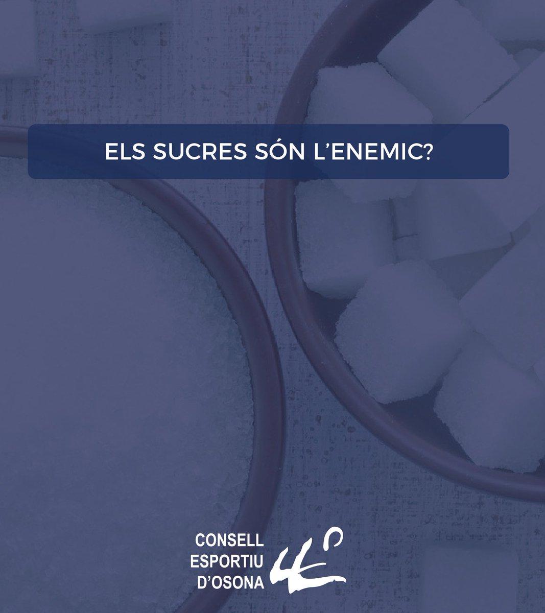 🧐 Els sucres són l'enemic? • #Alimentació #Entrenament #Córrer #Salut #Exercici #WorkOut #Running #Health #Fitness #Osona #Esport https://t.co/nfAwHAxbZU