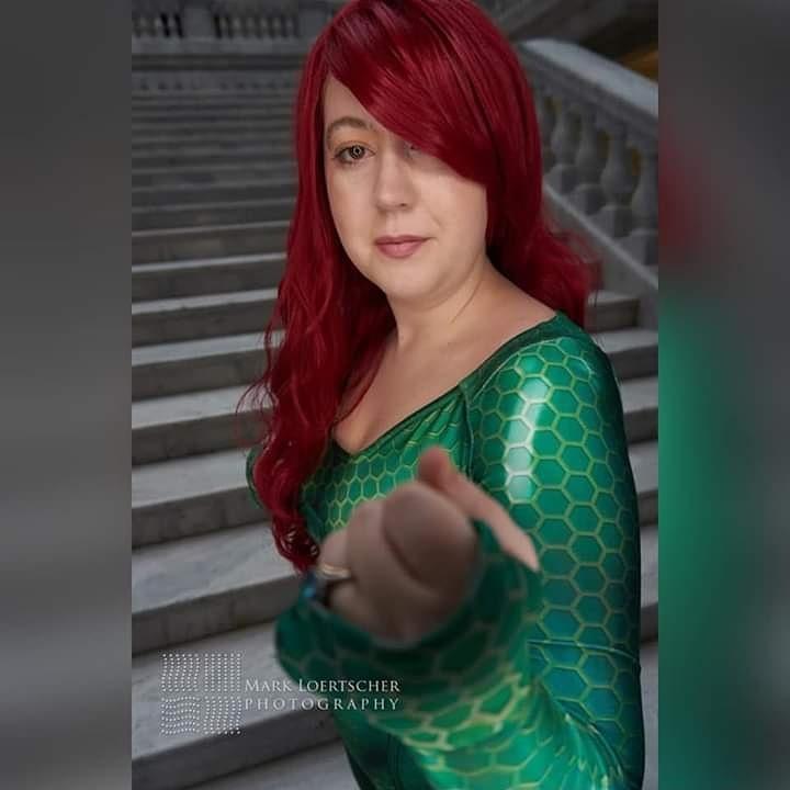 Mera From DC Comics.  Photographer @mloertscher #cosplay #meracosplay #dccomicspic.twitter.com/vVLhCwF6A3