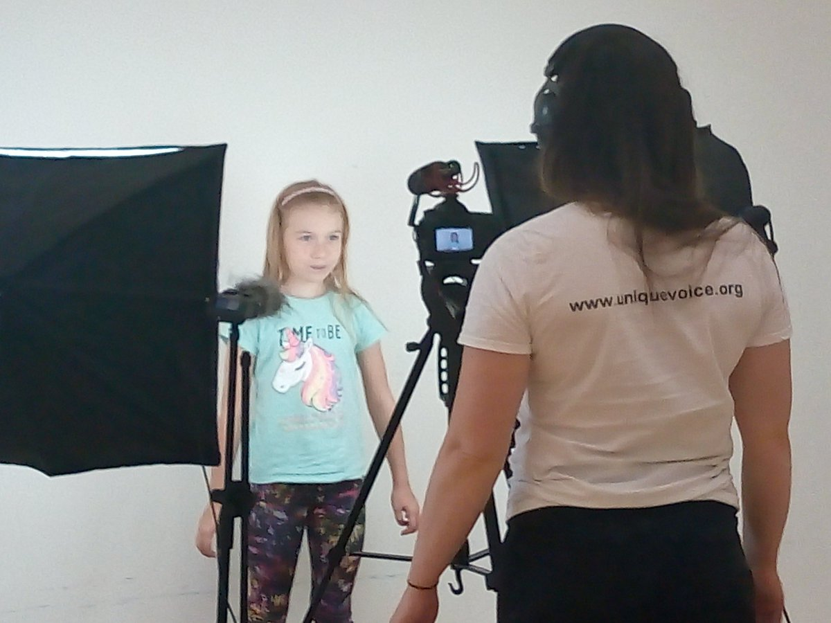 This week we have been filming with @UniqueVoice_CIC for @ABAonline in preparation for #AntiBullyingWeek in Nov. Cant wait to see the finished result. Everyone was awesome.