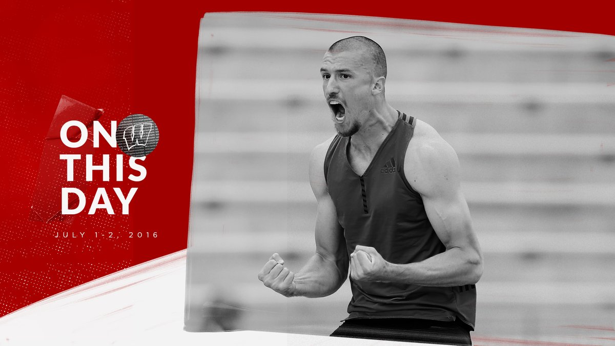 𝓞𝓷 𝓽𝓱𝓲𝓼 𝓭𝓪𝓽𝓮 ...  Our own Double Z  (Zach Ziemek) finishes 3rd in the 2016 U.S. Olympic Trials decathlon, setting a school record of 8,413 points! 🇺🇸 Olympian‼ https://t.co/WKIvtzj8vd