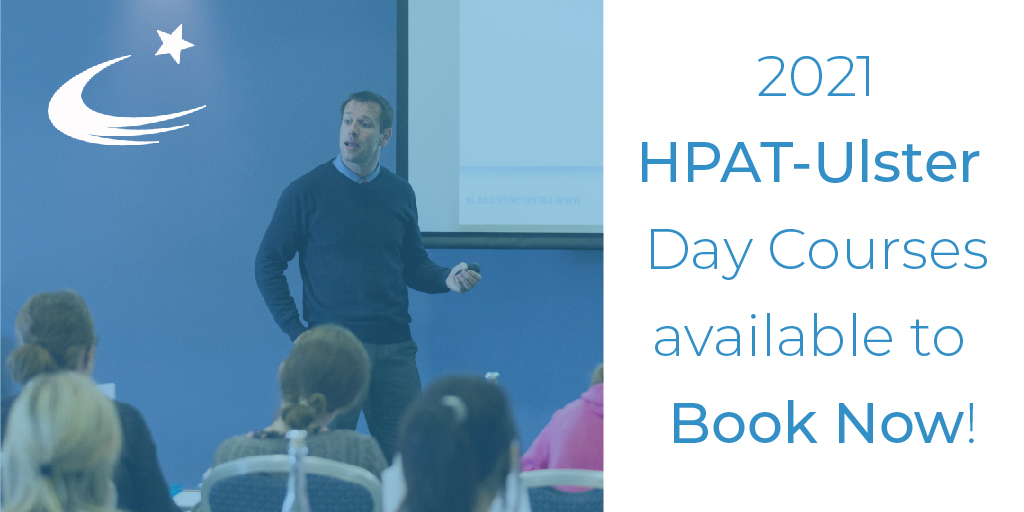 Our 2021 HPAT-Ulster day courses are available to book now!  🗓️Nov 14th & 28th @MaldronDerry 🗓️Nov 15th & 29th @CrownePlazaBEL  Full Details: https://t.co/KUuuUIeXVh  #HPATUlster #UlsterUniversity https://t.co/AZd1UetTsD