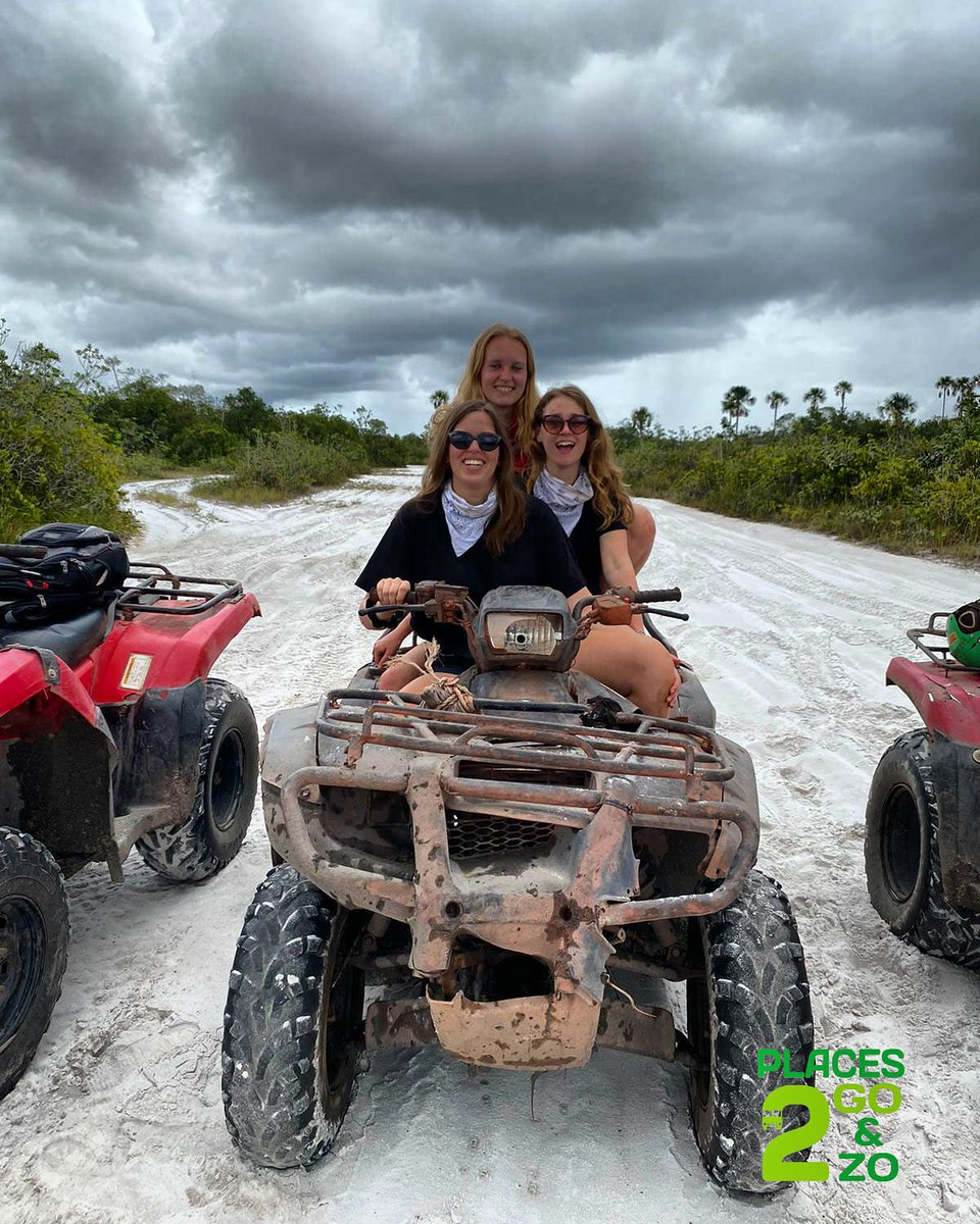 #crossing in this #beautiful #savannah! This #girls had #enjoyed they day. - #Places2Go #Suriname, #A #Mindblowing #Adventure! - ##zanderij #quadtour #atvride #atvlife #atvadventure #traveladvice #travelwithplaces2go #travelphotographer #travelfamily #adventures #adventuretime #apic.twitter.com/tIh4kQCPkL