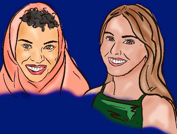 Just two days away from the release of @AmericaDidWhat with @BlairImani & @katerobards 🇺🇸🏳️🌈♥️