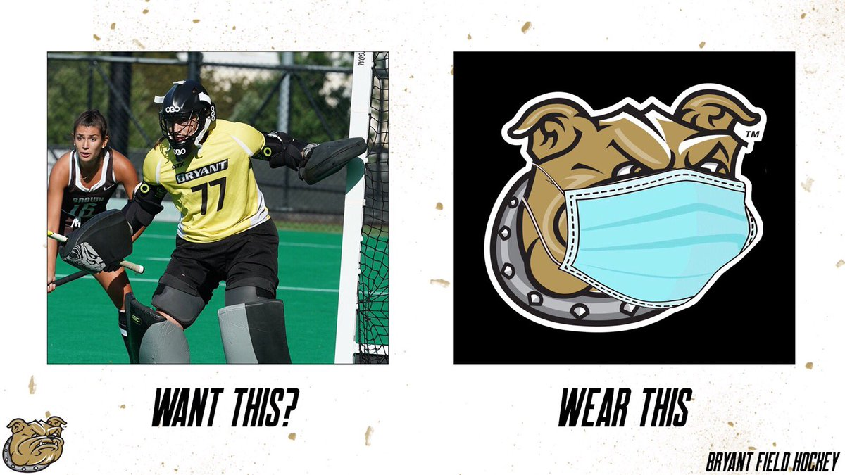 Be ironclad strong. Wear a mask.   #WeAreBryant https://t.co/1TDq8ol9Bc