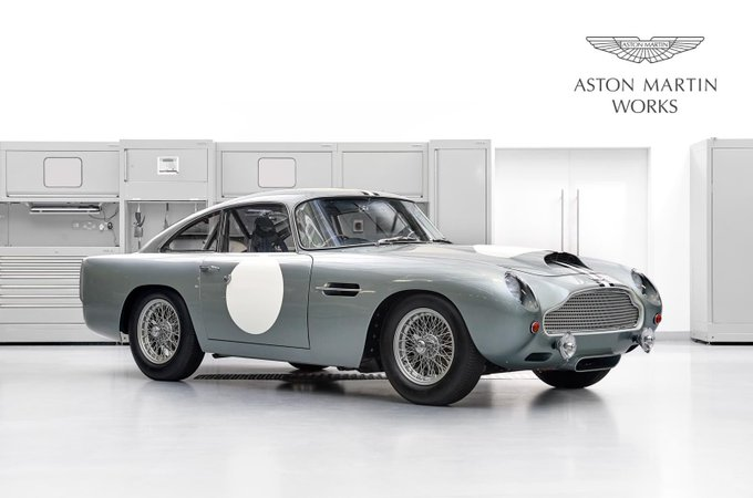 RT @AstonMartinWork: A remarkable piece…