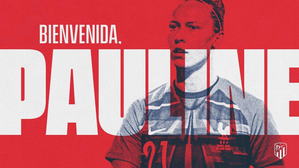 📝   FICHAJE  🧤 @PeyraudMagnin18, rojiblanca hasta 2⃣0⃣2⃣2⃣     🇫🇷 La internacional francesa jugará dos temporadas como rojiblanca 💪  🙌 ¡Bienvenida! 😃  👉 https://t.co/Lik0mUsaAd   🔴⚪ #AúpaAtleti   #BienvenidaPauline https://t.co/XBszr13WdB