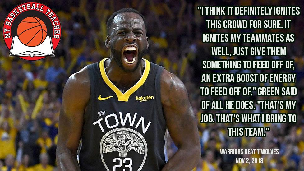 Draymond Green is My Basketball Teacher. #GoldenState #Warriors #Energy #MyBasketballTeacher #PostGameQuotes #DailyMotivation #PostGame #PostGameQuotes #Hoops #Bball #Basketball #gymrat #quotes #quote #baloncesto #Basketbol #Basquet #Basquete #баскетбол #basquetebol #NBApic.twitter.com/hUVtwbrny2