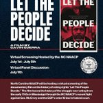 Image for the Tweet beginning: This week, the @NCNAACP is